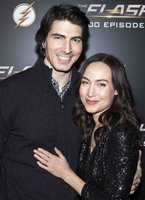 Courtney Ford Attends Celebration of 100th Episode The