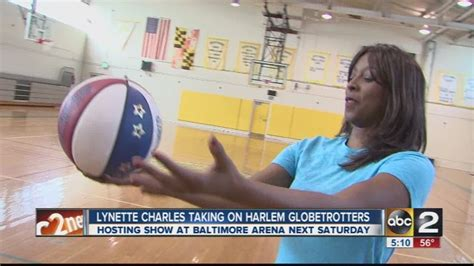 Lynette Charles and the Harlem Globetrotters - YouTube
