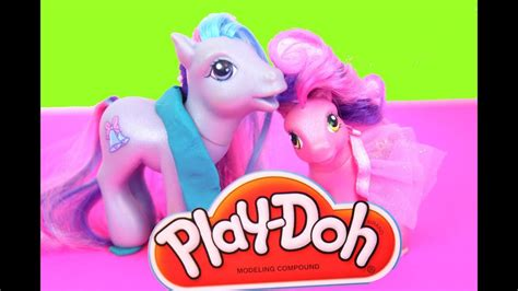 My Little Pony Shop for Horse Shoes Hasbro Play Doh - YouTube