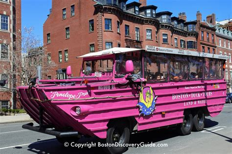 Boston Duck Tours - Discounts and Deals - Boston Discovery