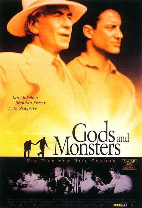 Gods and Monsters Movie Poster (#2 of 2) - IMP Awards