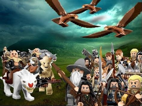 LEGO Battle of the Five Armies - YouTube