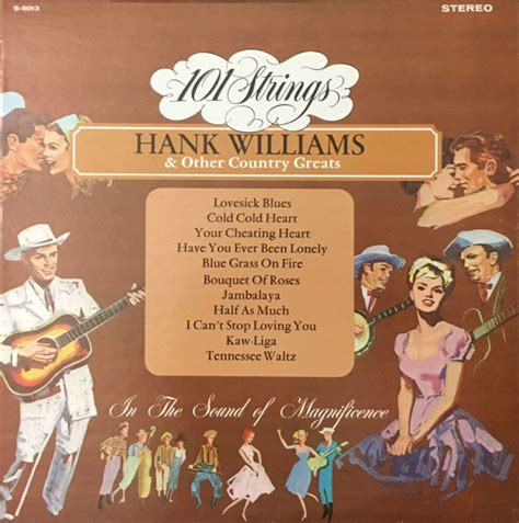 101 Strings - Hank Williams & Other Country Greats (1972