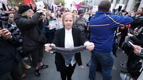 Lawyer in Rape Trial Links Thong With Consent, and Ireland
