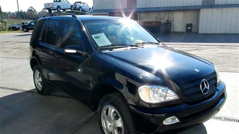 2002 MERCEDES-BENZ ML320 * LEATHER LOADED LOW MILES FOR