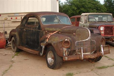 1940 Dodge 5 window business coupe – The Old Car Guys