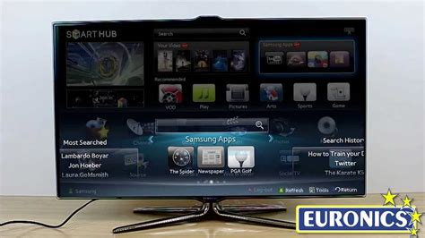 TV LED 3D Samsung UE46ES7000 - YouTube