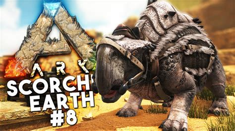 ARK Scorched Earth DLC: Episode 8 - TAMING A MORELLATOPS