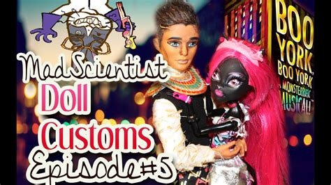 Mad Scientist Doll Customs: Episode 5 How to make a Boo