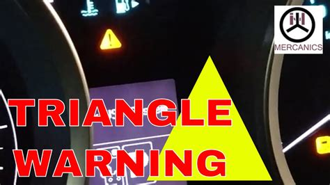Is That Triangle warning light Irritate you let see why