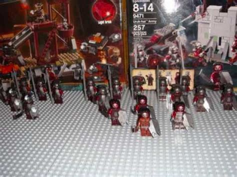 My Lego LotR Uruk-Hai Army (Old, please see the new vid