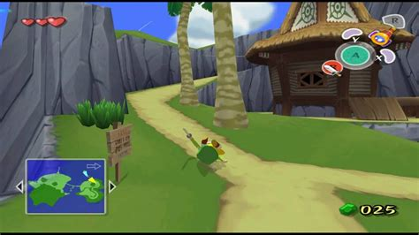 The Legend of Zelda: The Wind Waker on Dolphin Wii/GC