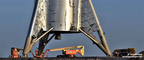 SpaceX moves Starhopper back to launch pad, puts 200m hop