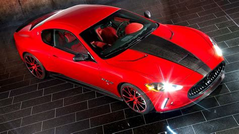 Cool Red With Black Strip Car 182 | HD Other Cars