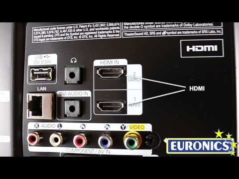 Samsung TV LED UE32EH5300 - YouTube