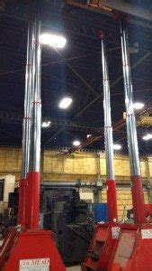 Used 400 Ton Lift Systems Hydraulic Gantry Cranes For Sale