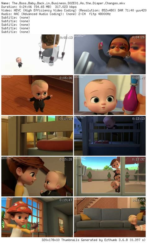 COMPLETE: The Boss Baby: Back in Business Season 2 Episode