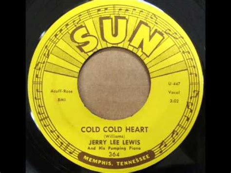 Cold Cold Heart - Jerry Lee Lewis - YouTube