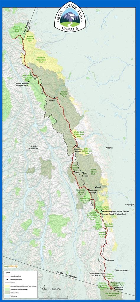 Great Divide Trail - Wikipedia
