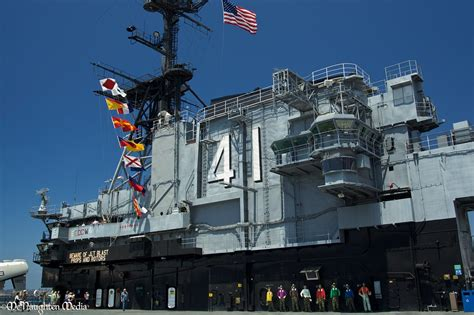 """USS Midway """"Island"""" CV-41 
