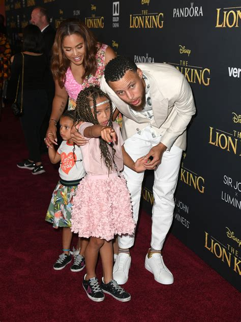 "Steph Curry Photos Photos - Premiere Of Disney's ""The Lion"